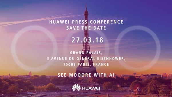 evento stampa Huawei P20
