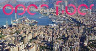 """Palermo è """"A prova di futuro"""" grazie alla fibra ottica di Open Fiber"""