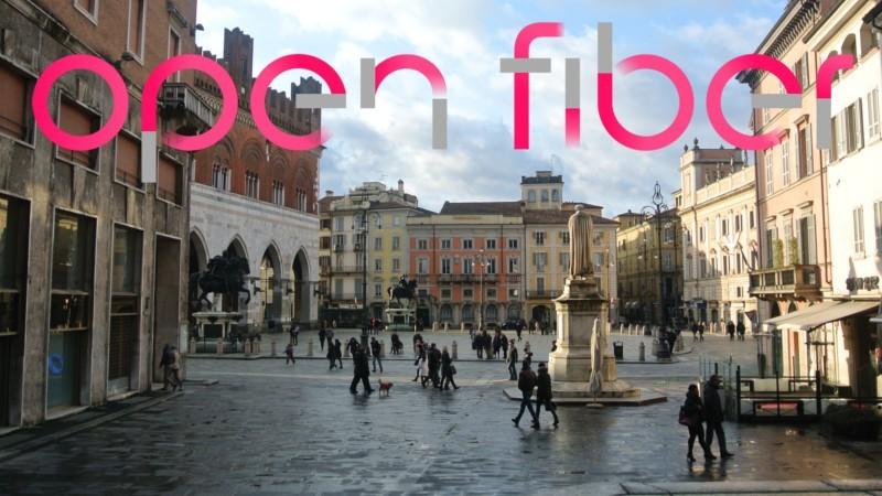 Fibra ottica FTTH a Piacenza: continuano i lavori Open Fiber