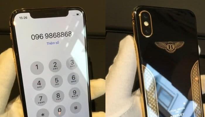 Iphone X Bentley Edition Un Gioiello Elegante In Oro 18 Carati