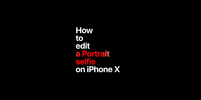 La fotocamera di iPhone X in tre nuovi spot