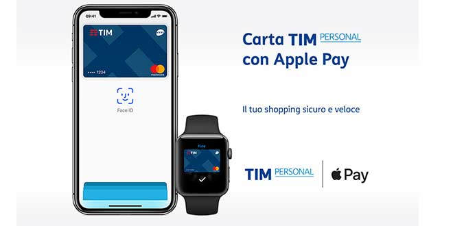Apple Pay supporta adesso TIM Personal e Allianz