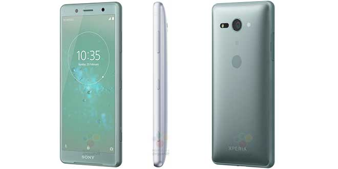 Sony Xperia XZ2 Compact, senza segreti display e design