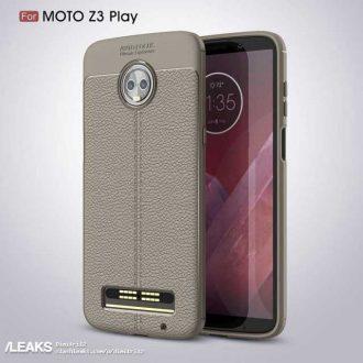 Moto Z3 Play esiste e lo conferma una cover