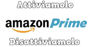 Come attivare/disattivare Amazon Prime