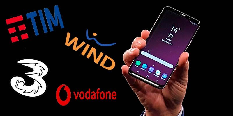 Galaxy S9 e S9+: come averli con Tim, Tre, Wind e Vodafone