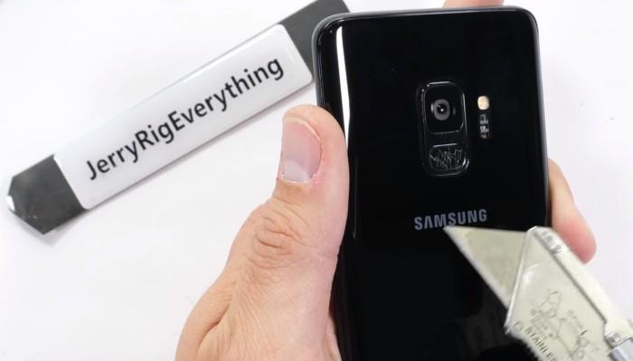Galaxy S9 test