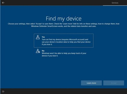 Windows 10, novità per la privacy con l'ultima build Insider