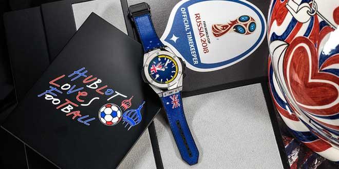 Hublot presenta il suo primo (e costosissimo) smartwatch dedicato ai mondiali