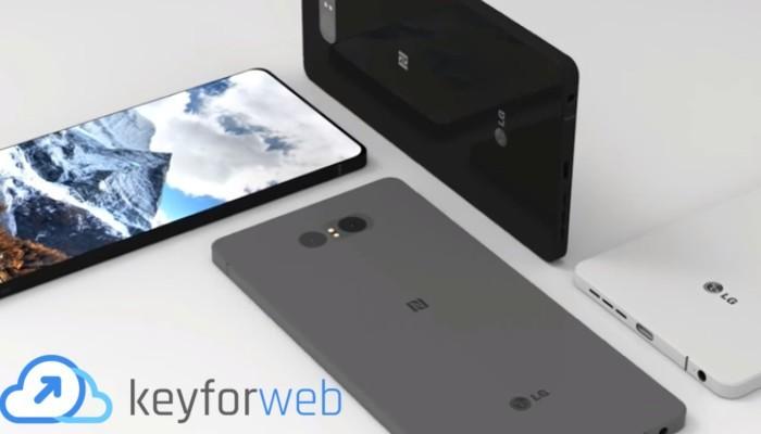 LG G7 con super schermo da 3120 x 1440p