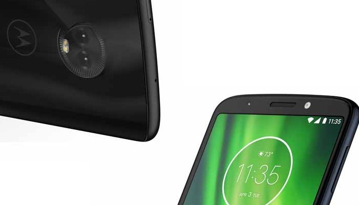 Motorola Moto G6 Play saluta tutti in video, che cornici!