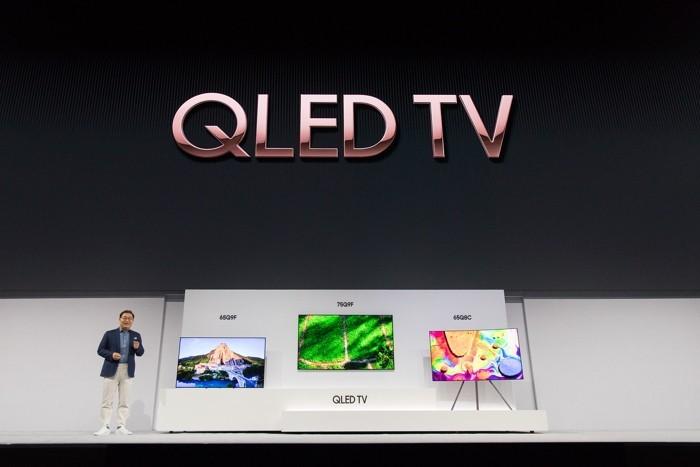 Samsung annuncia la nuova gamma di TV per il 2018