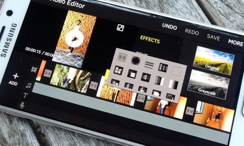 Samsung Movie Maker verrà abbandonato con Android P