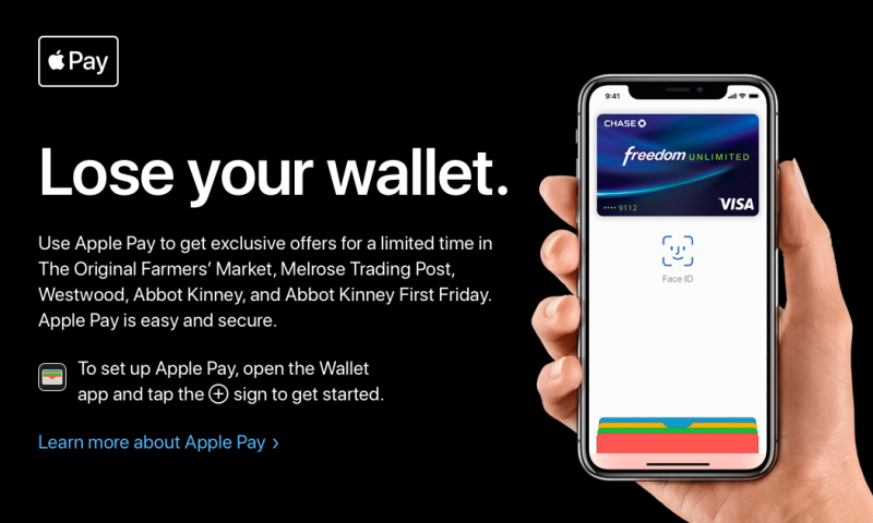 "Apple lancia ""Lose your wallet"" per pubblicizzare Apple Pay"