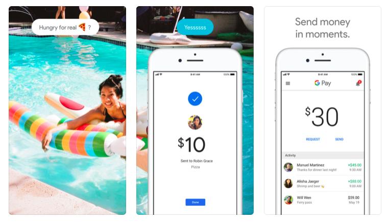 Google Pay Send, l'app è disponibile anche su iOS