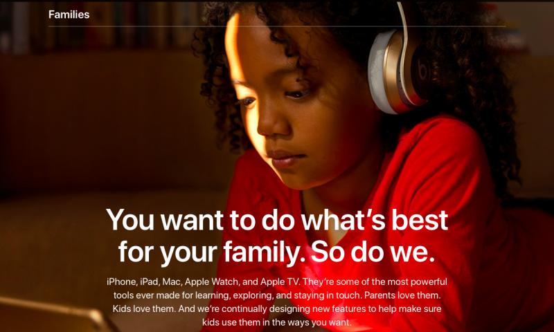 """""""In Famiglia"""" di Apple ha ora una pagina web dedicata"""