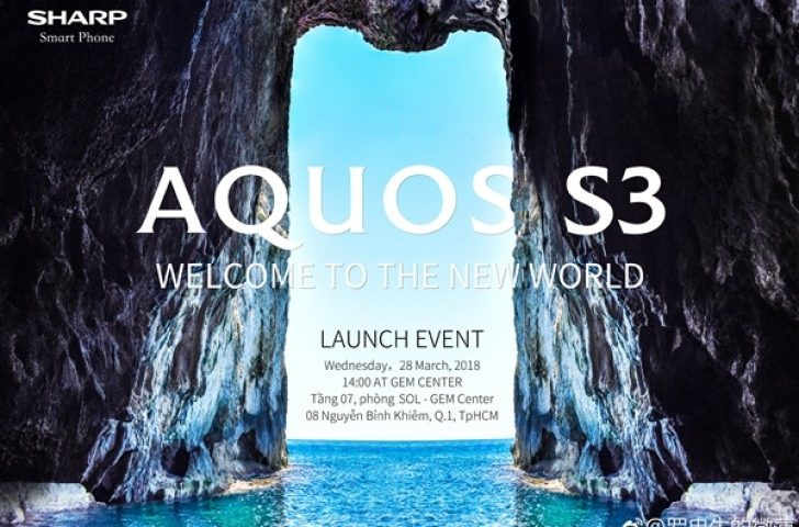 Sharp Aquos S3 disponibile da Aprile 2018