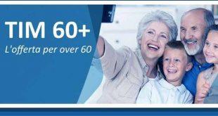 TIM stuzzica gli over 60: a partire da 9,90 euro al mese con 4GB e minuti illimitati
