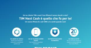 Tim Next Cash: come aver iPhone 8 a partire da 499 euro
