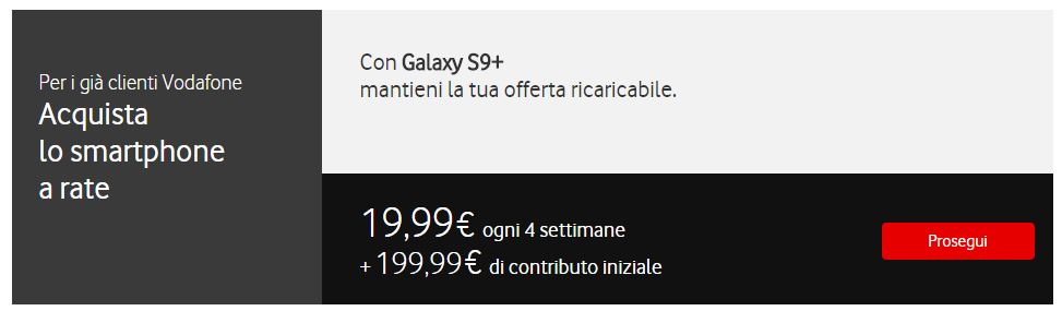 Vodafone Rate Galaxy S9 Plus