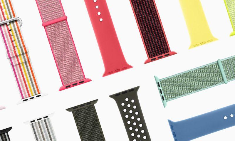 Apple Watch, i nuovi cinturini per iniziare al meglio la primavera