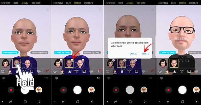 Come creare una AR Emoji su Galaxy S9 e S9+