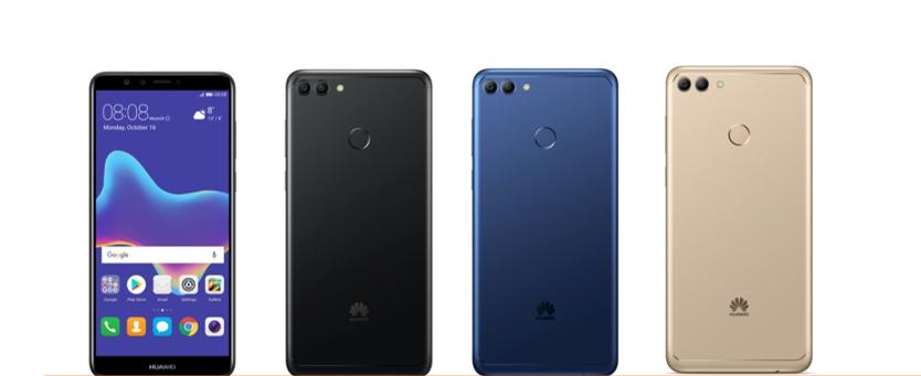 colori Huawei Y9 2018
