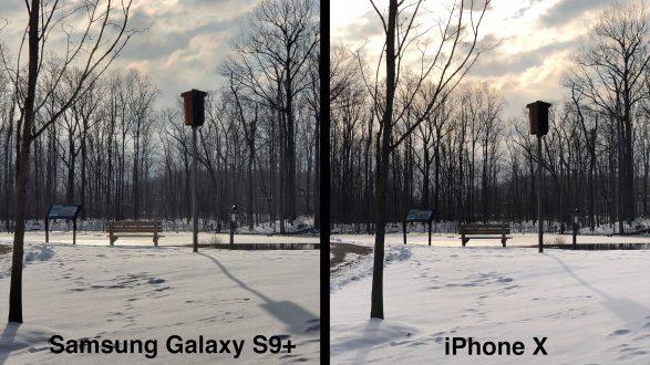 Samsung Galaxy S9+ vs iPhone X, comparativa tra dual camera