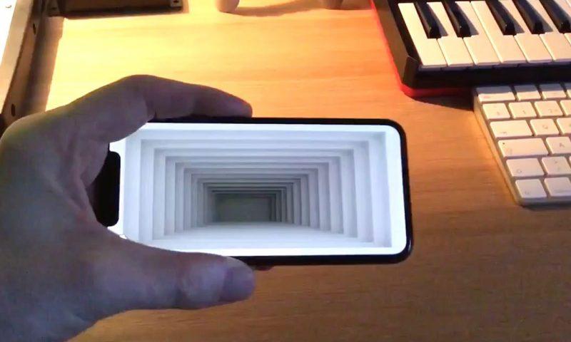 Nuovi progetti ARKit mostrano illusioni ottiche su iPhone