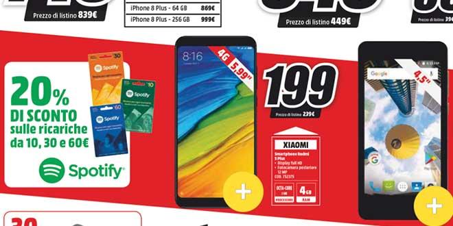 Xiaomi sbarca su MediaWorld: Redmi 5 Plus in offerta a 199 euro