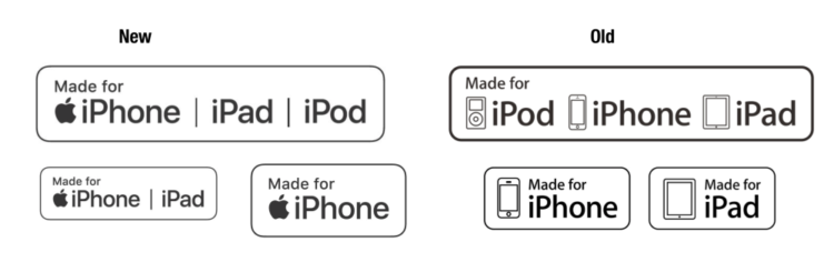 loghi di Apple