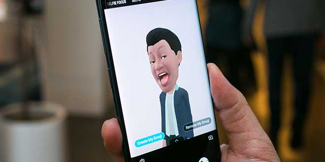 AR Emoji: arrivano i nuovi Sticker per Galaxy S9
