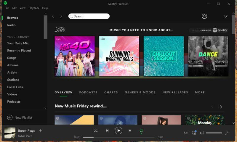 L'App di Spotify per Windows 10 si aggiorna nello Store Microsoft