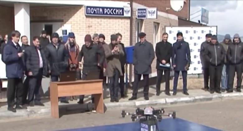 Drone postino russo, il primo test è un fallimento