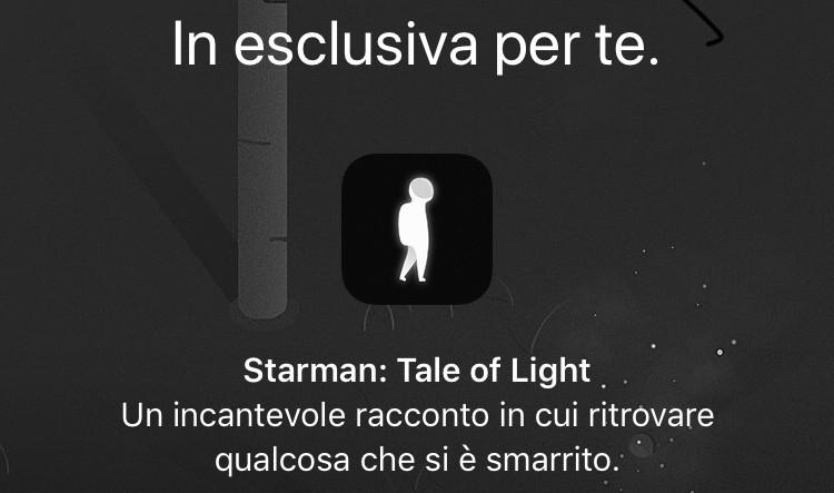 """L'app Apple Store regala il gioco """"Starman"""""""