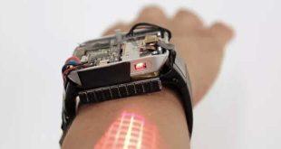 LumiWatch è il futuro degli smartwatch: trasforma addirittura la pelle in touchscreen!