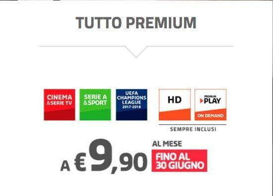 Mediaset Premium offerta