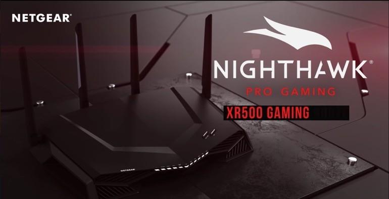 Netgear, in arrivo Nighthawk Pro Gaming