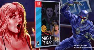 Night Trap, sta per arrivare anche su Nintendo Switch