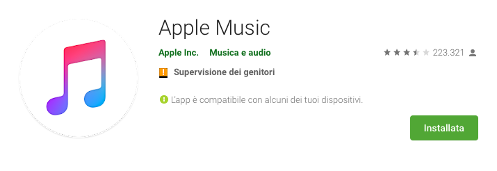 Apple Music porta i videoclip anche su Android