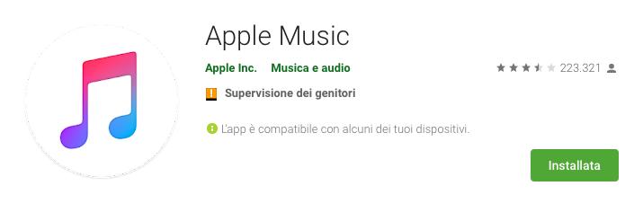 Apple Music porta i videoclip anche su Android