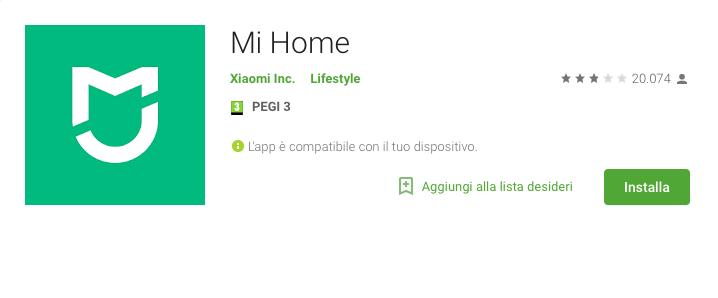 Xiaomi Mi Home finalmente arriva il supporto alla lingua italiana