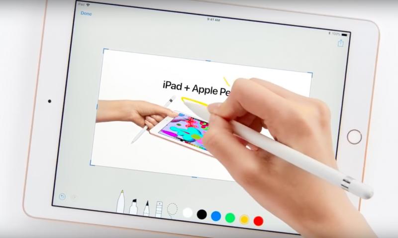 iPad + Apple Pencil, tre nuovi spot per spiegarne le funzioni
