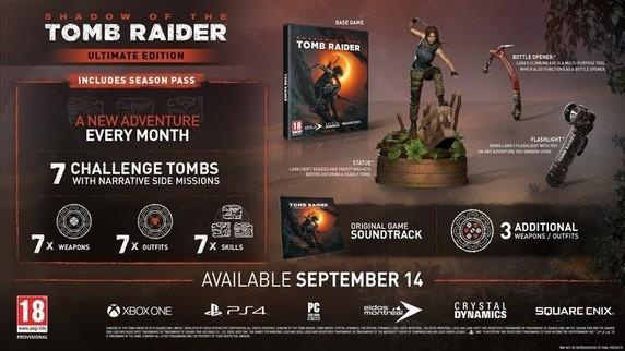 Shadow of the Tomb Raider, il ritorno di Lara Croft