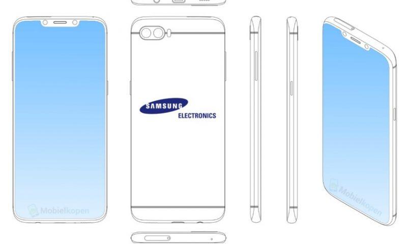 Anche Samsung pensa al notch per i suoi smartphone?