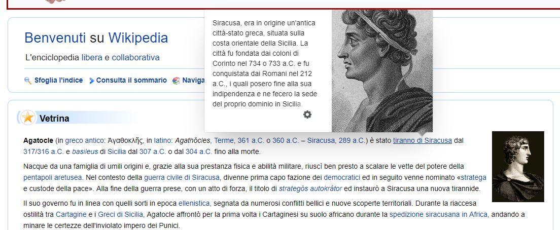 anteprima wikipedia