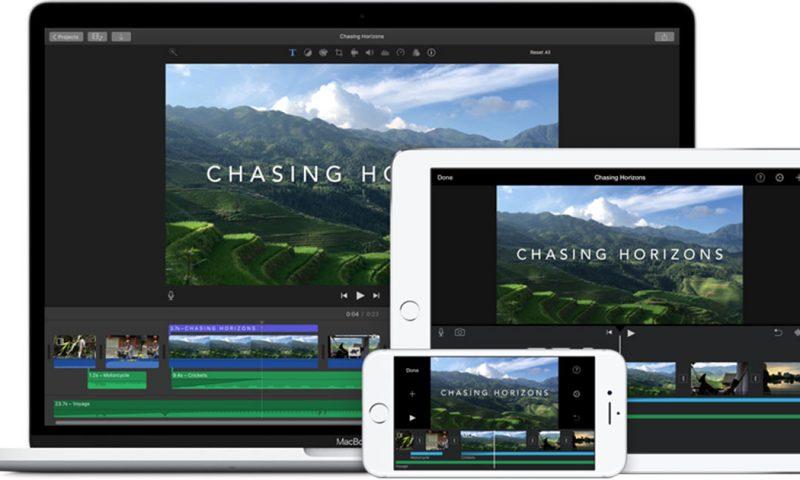 Apple aggiorna iMovie e migliora la compatibilità con iPhone X