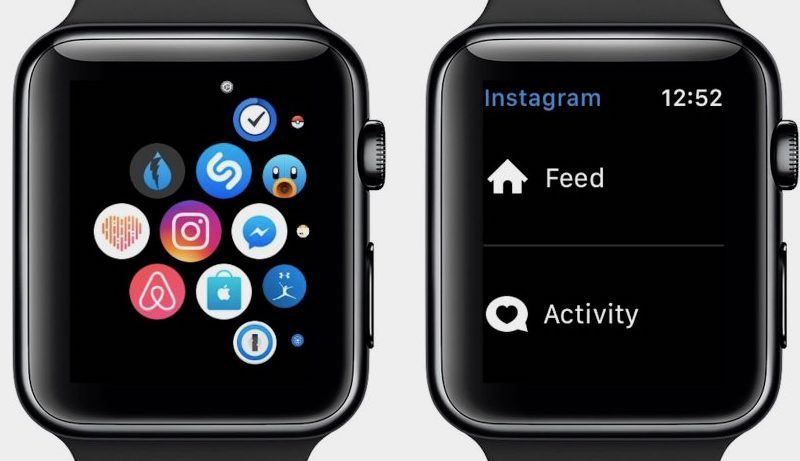 Instagram non è più compatibile con Apple Watch