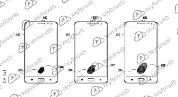 Samsung brevetta un nuovo pannello per l'acquisizione delle impronte digitali, lo vedremo su Galaxy S10?
