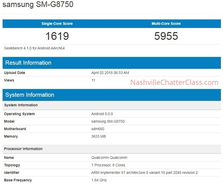 test geekbench